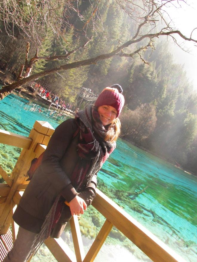 No, si yo en realidad estaba la mar de contenta en Jiuzhaigou.